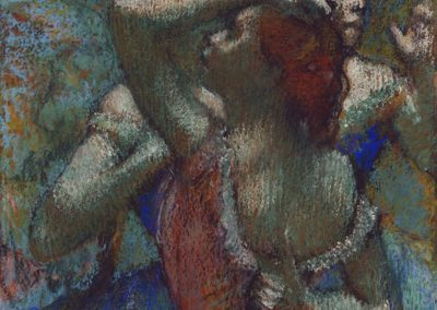 12-Edgar Degas (19 July 1834 – 27 September 1917)