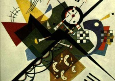 32-Wassily Kandinsky (4 December (16 December by the Gregorian calendar) 1866 – 13 December 1944)