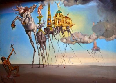 35-Salvador Dalí (11 May 1904 – 23 January 1989)