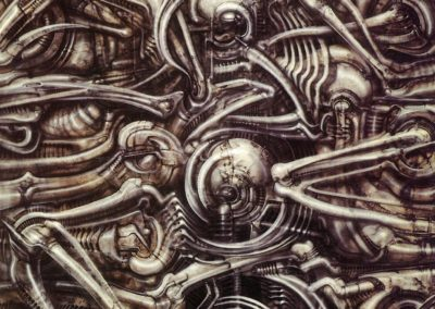 39-H. R. Giger (5 February 1940 – 12 May 2014)